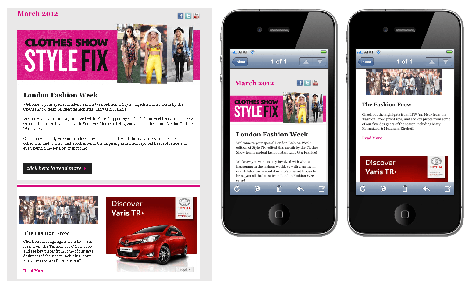 Clothes Show Style fix responsive email design