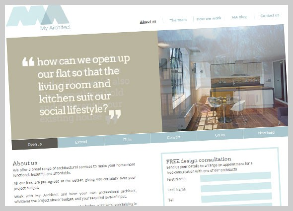 Website for My Architect