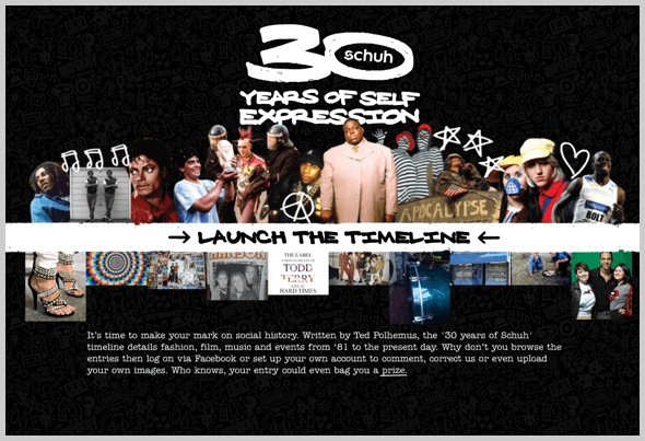 the latest 8858f 617a2 How we built the 30 Years of Schuh flash website | By The Scruff