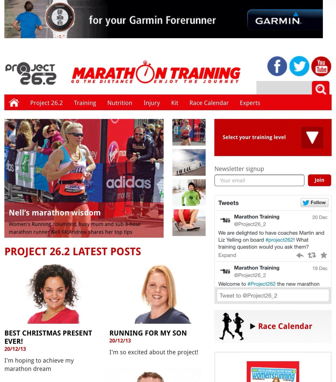 Marathon Traing Project 26.2