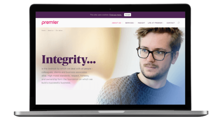 Premier Pensions website - UX/UI, HTML Email, WordPress, Creative