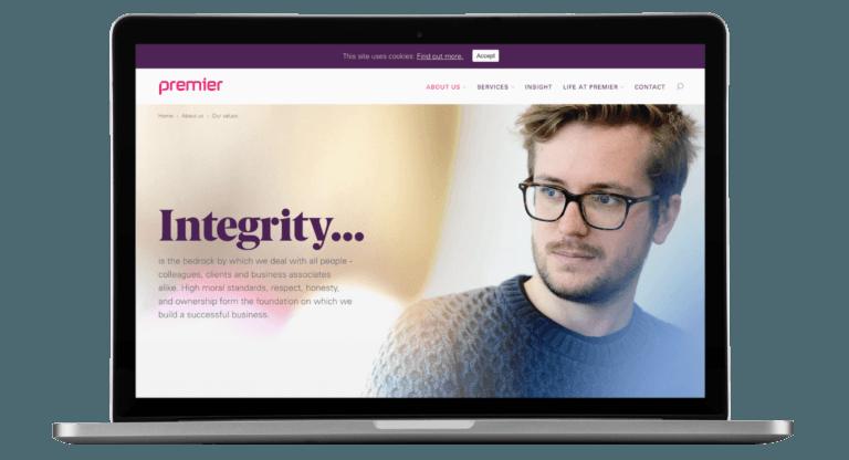 Premier Pensions website - UX/UI, HTML Email, WordPress, Creative