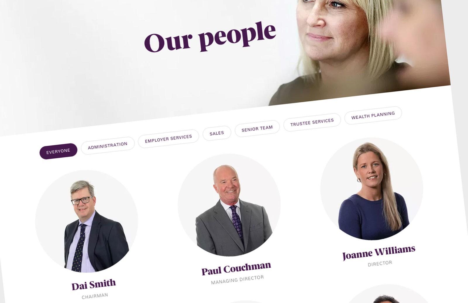 Premier Pensions - UX/UI, HTML Email, WordPress, Creative