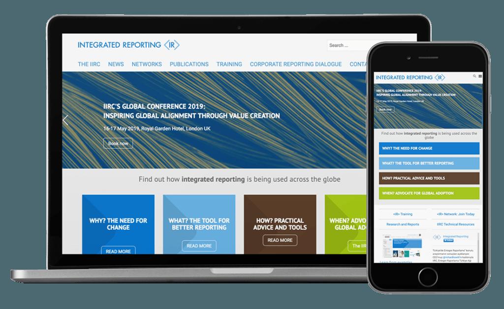 Integrated Reporting - UX/UI, HTML Email, WordPress, Creative