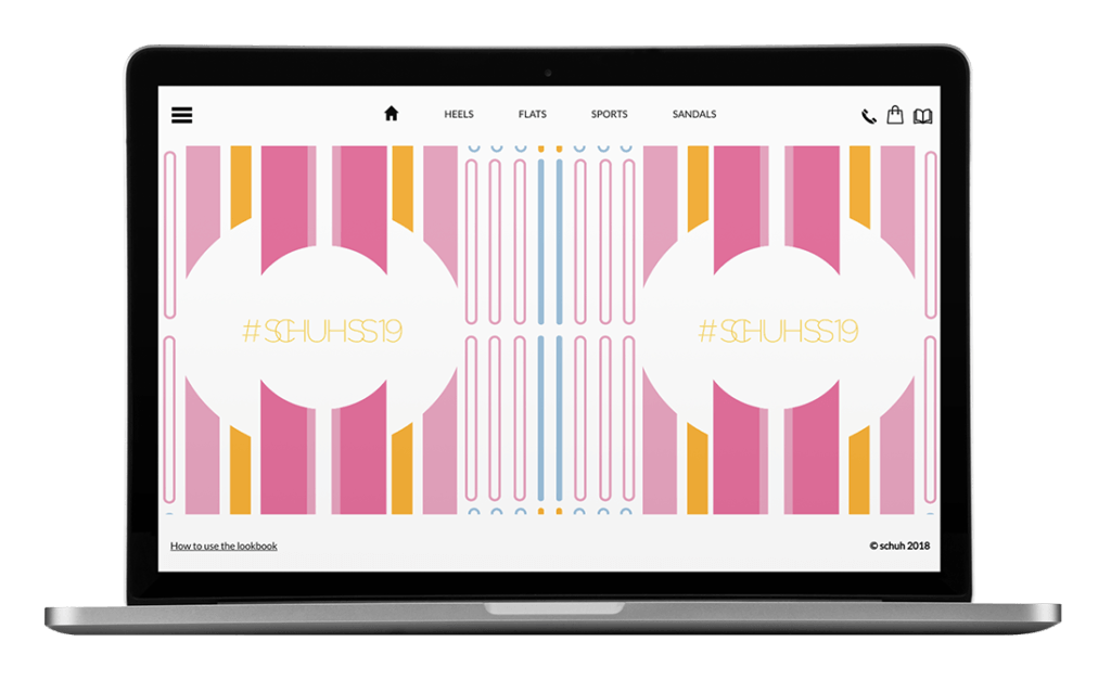 Schuh Lookbook - UX/UI, HTML Email, WordPress, Creative
