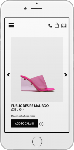 Schuh Lookbook mobile